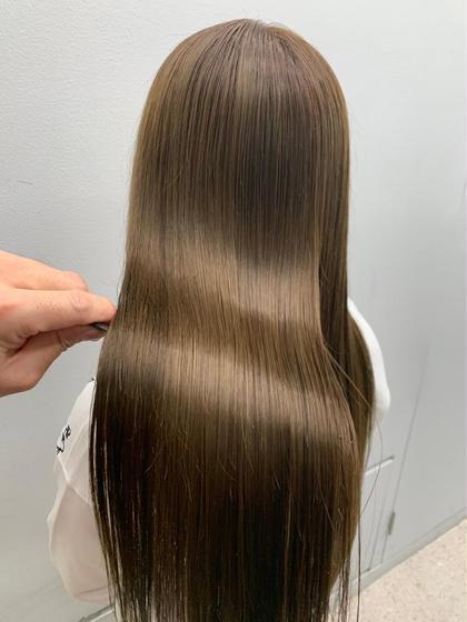 Instagramで人気【髪質改善】👩🏻🦰✨SISEIDO酸熱トリートメントモデル✨✨毛先カットあり