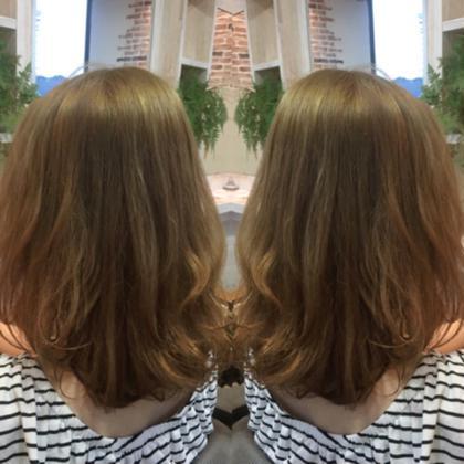 トーンアップ✄黒染めからのハイトーンにチェンジ hair styling room butter所属・渋田幸恵のスタイル