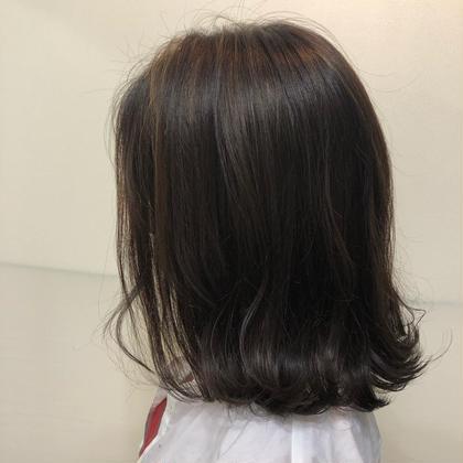部分ハイライト    カラー施術+¥500~