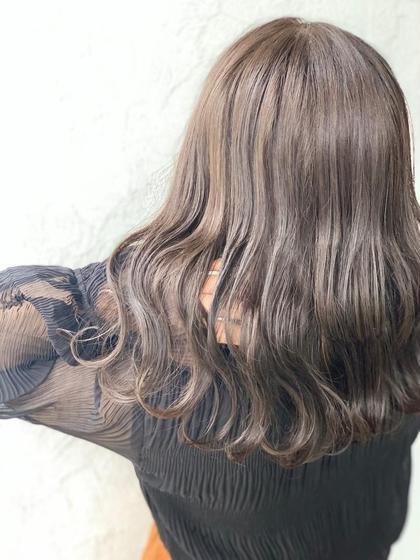 【3step潤い、ツヤ】ミストカラー+髪質改善トリートメント+魔法のマーブ🧙♀️🧡