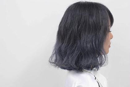 ダークアメジストグレー CLLN Hair design所属・札木哉太のスタイル