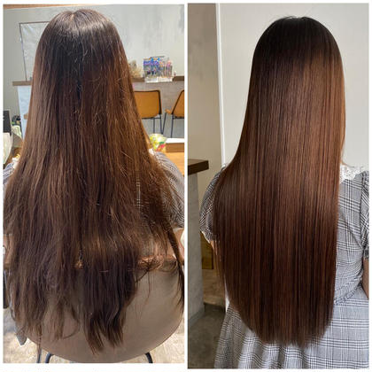 カット込み!✨ツヤさら✨髪質改善+フルカラー