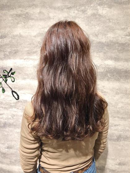 【🙌迷ったらコレ🙌透明感❓ツヤ髪❓¥7980〜¥9980で選べるカラー😉💕】カット&全体カラー&トリートメント