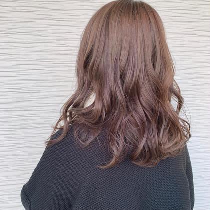 人気No. 1👑透明感カラー+3stepトリートメント
