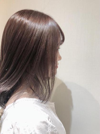 【ケアブリーチ使用】ダブルカラー
