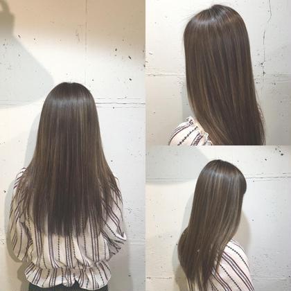hair&make EARTH大宮駅前店所属・大島恵のスタイル