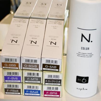 【Sark2周年】カット+透明感N.カラー☆あのポリッシュオイルで有名なエヌドットからカラー剤が大量入荷‼️