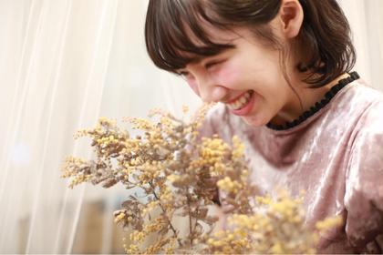 撮影モデル📷  笑顔の素敵な可愛いお客様!  お客様にあったキュートなお化粧に素敵な笑顔を狙って撮りました(^ ^)