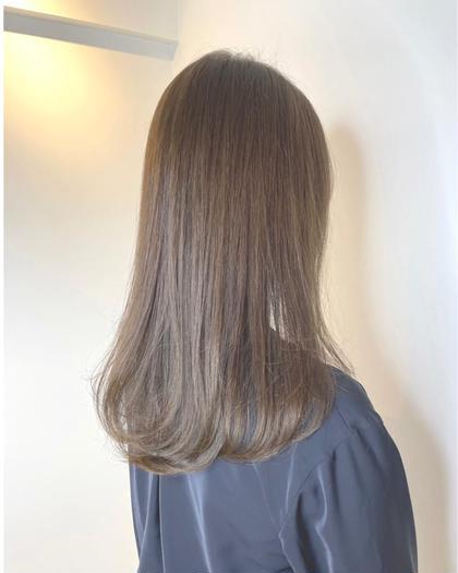 🌈伸ばし中の方へ🌈どんな髪でも艶髪に🌿美髪チャージ❣️サイエンスアクアinイルミナカラー➕トキオTR【スチーム付】