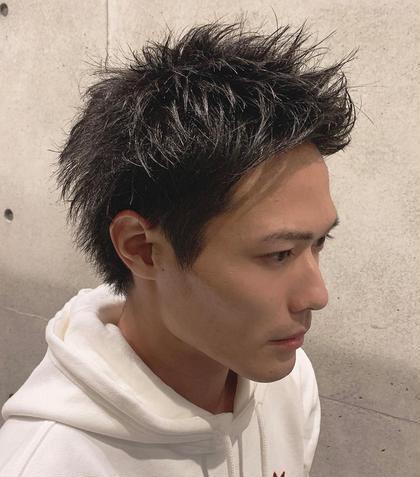 【メンズクーポン】カット+カラー+トリートメント