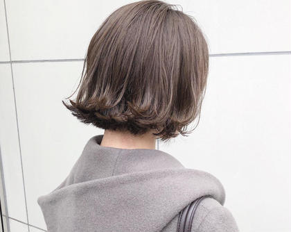 ✨初回・2回目ご来店クーポン✨カット & 透明感カラー & 極潤トリートメント