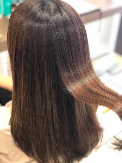 《硬毛から軟毛に》髪質改善+トリートメント