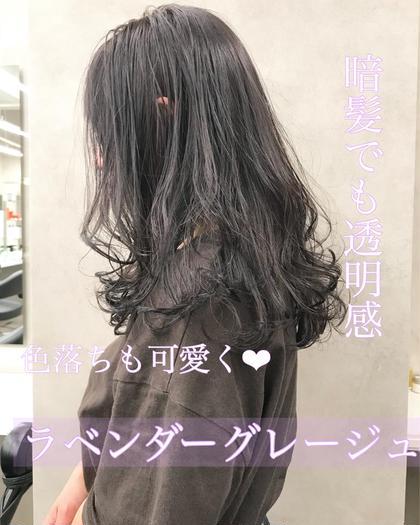 【💓就活や実習もクリア💓】暗髪だって可愛くいたい🥺暗髪透明感カラー&クイックオリジナルトリートメント✨