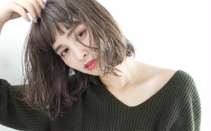 ミニモ特別価格【カット+イルミナカラー+髪質改善トリートメント】