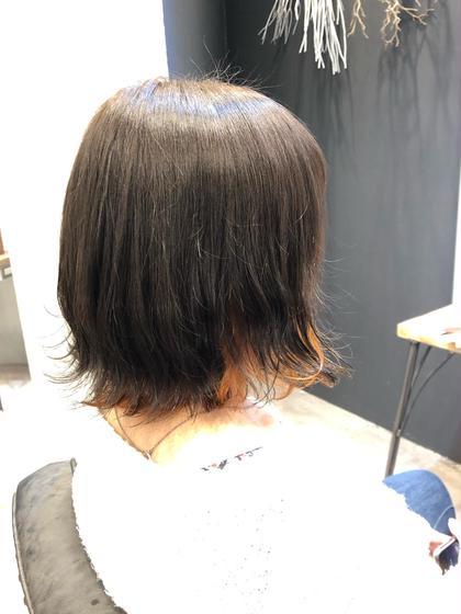 カット+リタッチカラー+髪質改善トリートメント