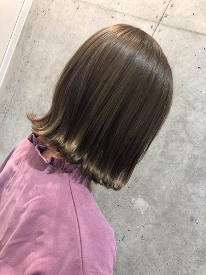☘️カット+アディクシーカラー+ツヤ髪トリートメント 150分  ¥10780→¥9680