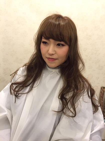 ふんわりカール!巻き髪スタイル! vira   hair所属・大石ゆかのスタイル