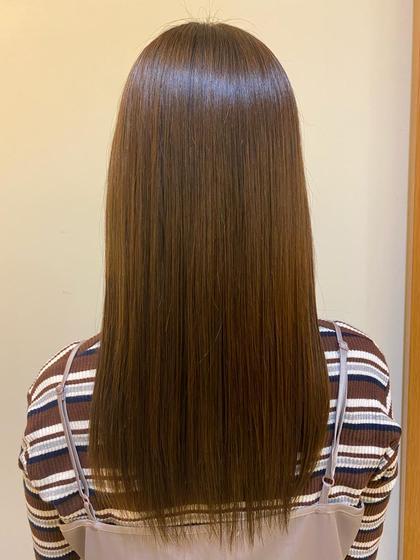 髪質改善カラー✨