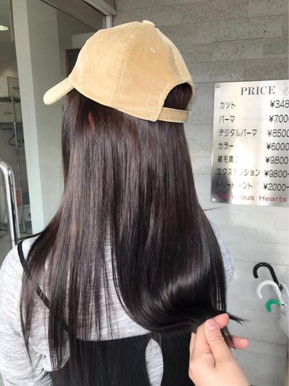 イルミナカラー+髪のサプリメント+イルミナカラー専用トリートメント+カット
