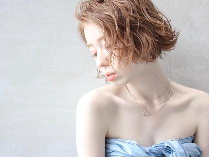 イルミナカラー+ケラスターゼトリートメント+スタイリング 【ショートorボブ限定】