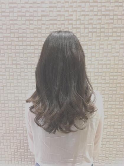 ❤︎透明感♡ハイライトカラー&トリートメント&コテ巻き❤︎