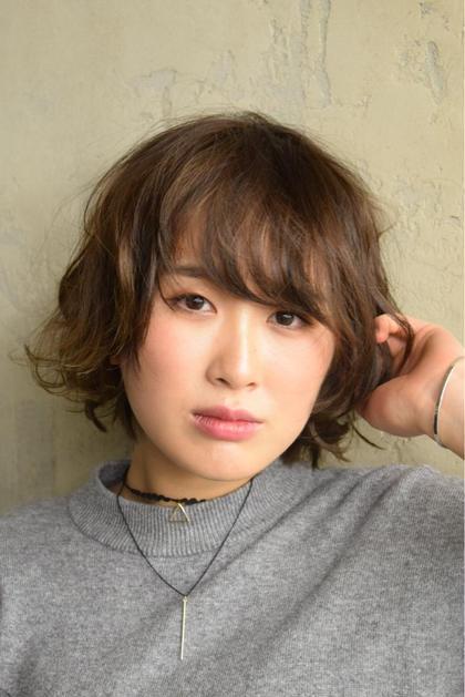 ショートボブのアレンジ★ spin hair 桂所属・上野恵美のスタイル