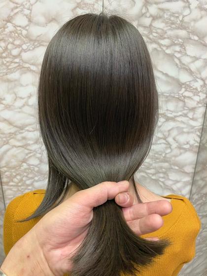 🎖大人気🎖メンテナンスカット+イルミナカラー+髪質改善酸熱トリートメント