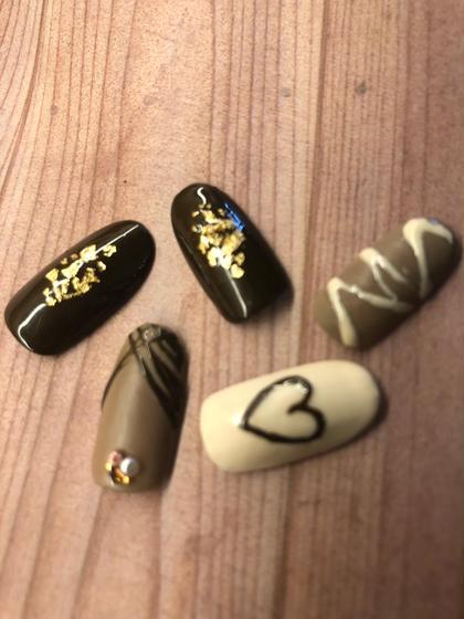 高級チョコ詰め合わせの様なネイル✨✨✨ バレンタインにネイルもチョコレートに