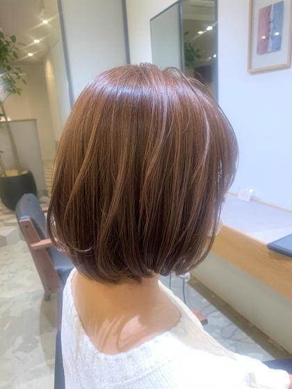 👩🏼🦳🧓🏻【白髪染め】1colour+トリートメント ⚠️(白髪染め根本リタッチのみも可→−500円)