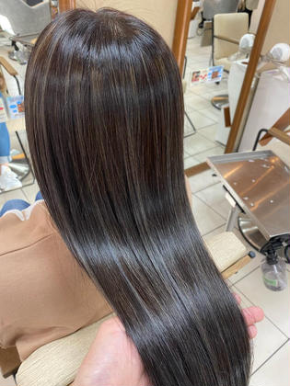 💫SNSで話題沸騰中の髪質改善💫トリートメント+フルカラー