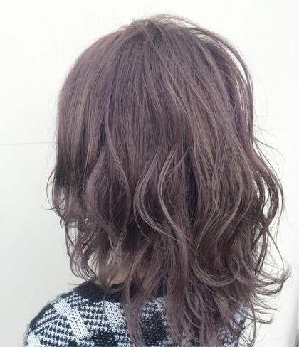 ラベンダーアッシュ Hair garden Rold所属・吉田朋央のスタイル