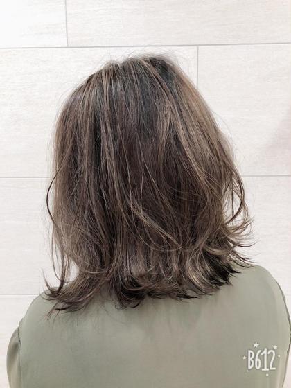 ㊙️透明感カラー&メンテナンスカット&スチームトリートメント✨✂️カットは毛先カットか前髪小顔カット✂️