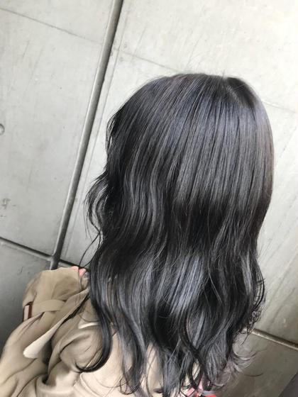 🌿APPLIE color🌿 透明感のある髪にブリーチなしで再現します❤︎