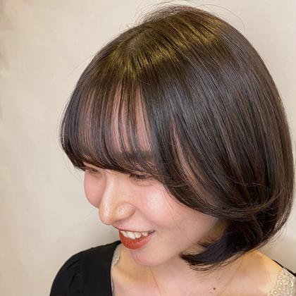 ❁何度でも使える❁🩰小顔効果UP🩰前髪&顔周りカット(コテ巻つき)