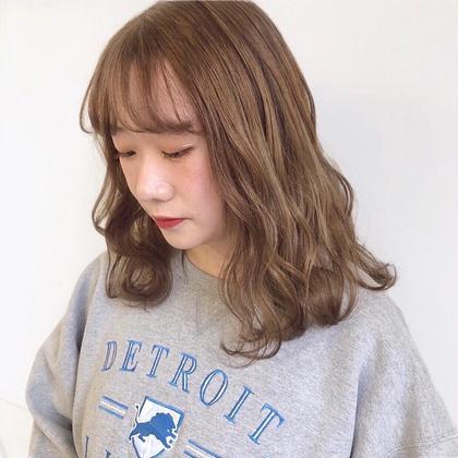 💗🥉人気No.3🥉💗【ケアブリーチ】➕【透明感ワンカラー】➕【トリートメント】➕【前髪カット】
