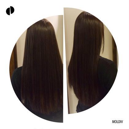 【Aujua】【期間限定特典】前髪縮毛矯正+前髪カットもしくは全体カット+ワンカラー+オージュアフルトリートメント