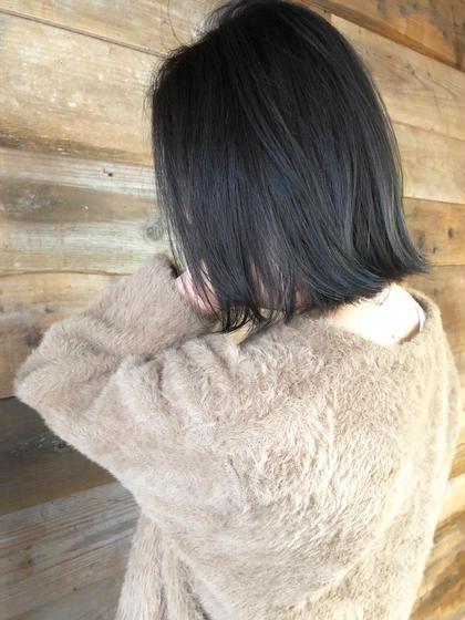 その他 カラー キッズ ネイル ヘアアレンジ マツエク・マツパ ミディアム 【 ハイライト × ブルージュ 】  アッシュベースにハイライトを足したデザインカラーです🌟  細かいハイライトが退色してもメッシュっぽくならず自然と馴染むのでお客様から大好評です☺️  黒髪まではいきませんが、これだけトーンを落としても独自のこだわりのある選定で透明感たっぷりのブルージュカラーで重く見えません😊