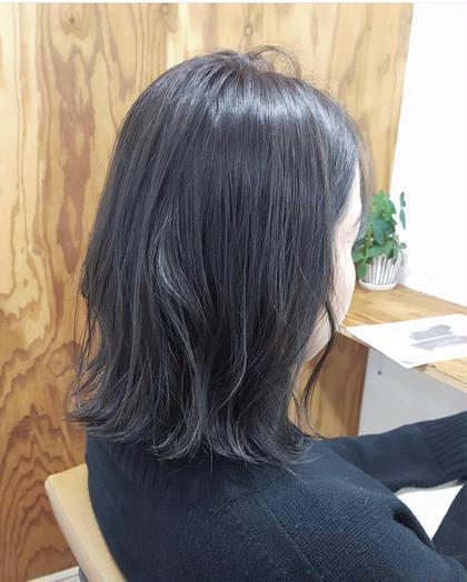 【就活、実習生必見👀】就活、実習OK❗️暗髪カラー&トリートメント付き✨