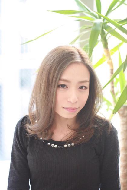 THROWカラーを使って透明感のある髪色に♪ XES-TA所属・中村よしひでのスタイル