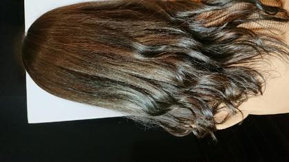🎨前髪カット➕透明感カラー➕トリートメント