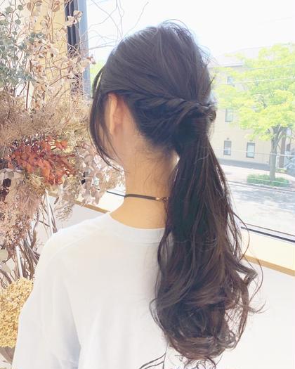 🔻【プチイメチェン☆お仕上げはアレンジ♪】前髪カット+ヘアアレンジ🔻