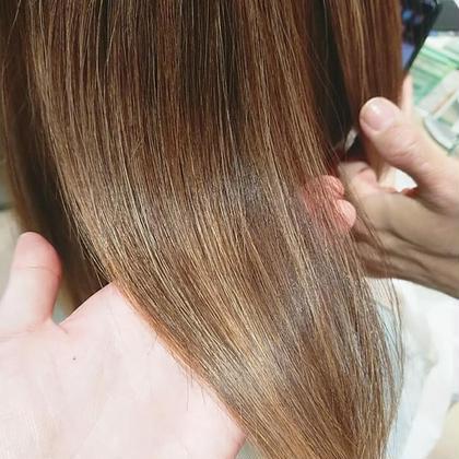 ✨髪質改善酸熱トリートメント✨