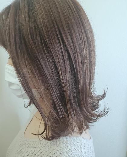 ▪️髪キレイコース▪️カット+アディクシーカラーorイルミナカラー+再生美容ケア+マイフォースTR