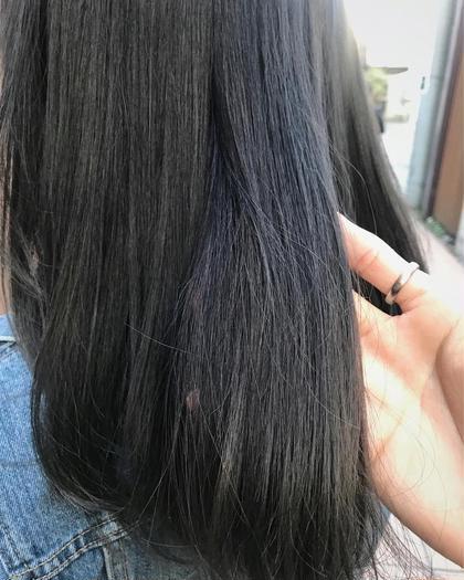 その他 カラー セミロング ヘアアレンジ 地毛風暗髪カラー✨  赤味のないグレージュを体感出来ます✨✨  お仕事や学校で規則が厳しい方もお洒落を楽しめます✂︎  ✔️重く見えない地毛風カラー ✔️暗くても透けてみえる透明感 ✔️校則や規則で制限がある方にもオススメ ✔️黒髪にしたい方も勿論可能 ✔️色持ち保証  一度、僕にお任せください✨ なりたい理想を僕が実現させます😊🌈