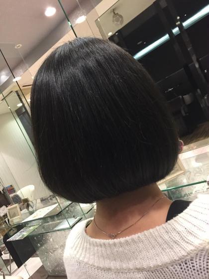 ワンレンの重ためのボブです(^^) Another hairsalon所属・小野拓馬のスタイル
