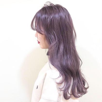 人気NO.1🌈外国人風ダブルカラー(ブリーチ+カラー)