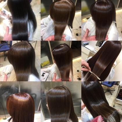 ♥人気No.1♥毛髪細胞復元カラートリートメント+似合わせカット+巻き髪セット