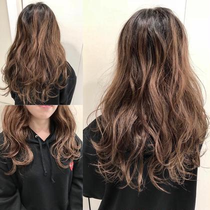 【黒髪卒業ヘアカラー & 髪の毛柔らかトリートメント】
