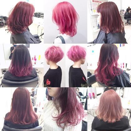 カラー ピンクカラー