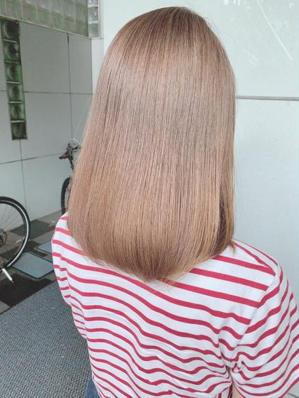 ✨ダメージ徹底補修+外国人風カラーのセットメニュー‼️ 髪質改善トリートメント+外国人風カラー